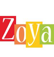 Zoya colors logo