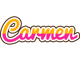carmen logo name logo generator smoothie summer