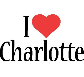 Charlotte logo name logo generator i love love heart for I love to design