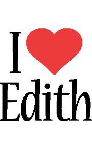 Edith logo name logo generator i love love heart for I love design
