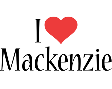 Love Wallpaper Generator : Mackenzie Logo Name Logo Generator - I Love, Love Heart, Boots, Friday, Jungle Style