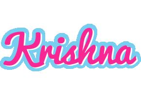 Krishna Logo Name Logo Generator Popstar Love Panda Cartoon