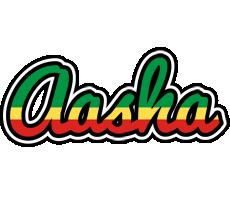 Aasha african logo