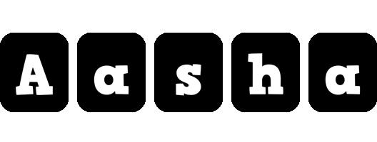 Aasha box logo
