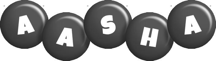 Aasha candy-black logo