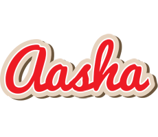 Aasha chocolate logo