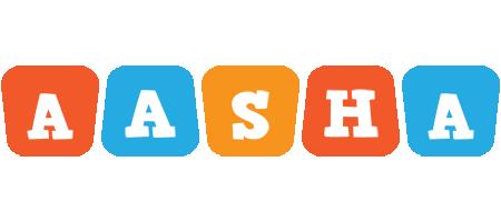 Aasha comics logo