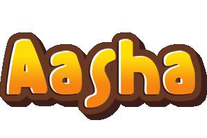 Aasha cookies logo