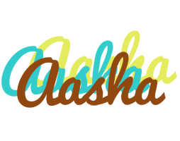 Aasha cupcake logo