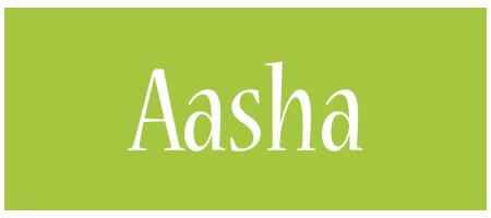 Aasha family logo