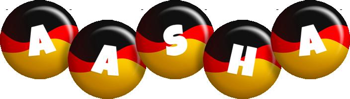 Aasha german logo