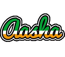 Aasha ireland logo