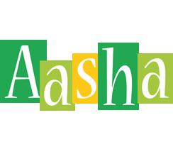 Aasha lemonade logo