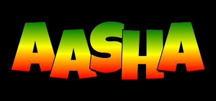Aasha mango logo