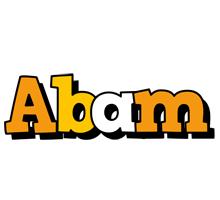 Abam cartoon logo