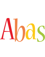 Abas birthday logo
