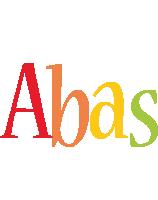 Abas birthday logo