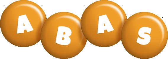 Abas candy-orange logo