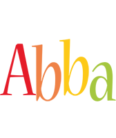 Abba birthday logo