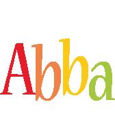 Abba birthday logo