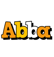 Abba cartoon logo
