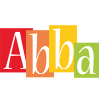 Abba colors logo