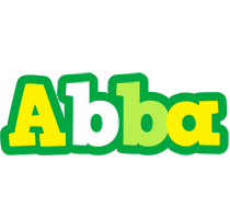 Abba soccer logo