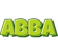 Abba summer logo