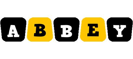 Abbey boots logo