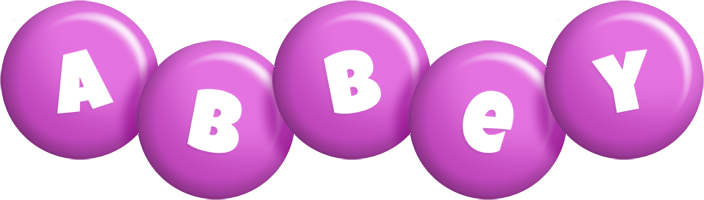 Abbey candy-purple logo