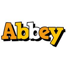 Abbey cartoon logo