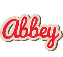Abbey chocolate logo