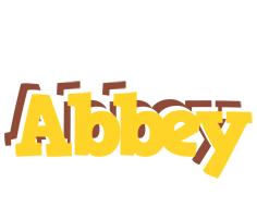 Abbey hotcup logo
