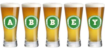 Abbey lager logo