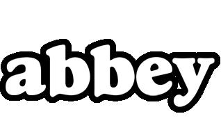 Abbey panda logo