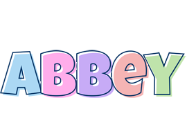 Abbey pastel logo