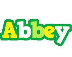 Abbey soccer logo