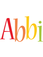Abbi birthday logo