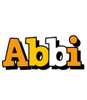 Abbi cartoon logo