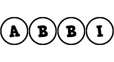 Abbi handy logo
