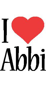 Abbi i-love logo