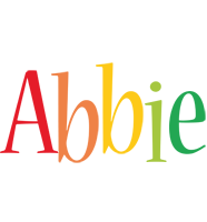 Abbie birthday logo