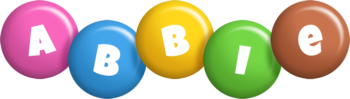 Abbie candy logo