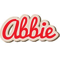 Abbie chocolate logo