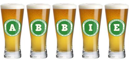 Abbie lager logo