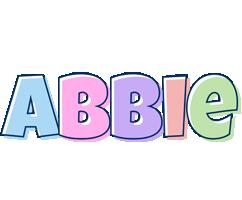 Abbie pastel logo