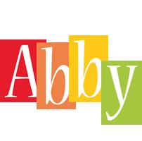 Abby colors logo