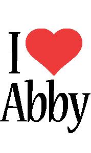 Abby Logo | Name Logo Generator - I Love, Love Heart ...