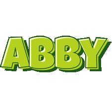 Abby summer logo
