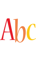 Abc birthday logo